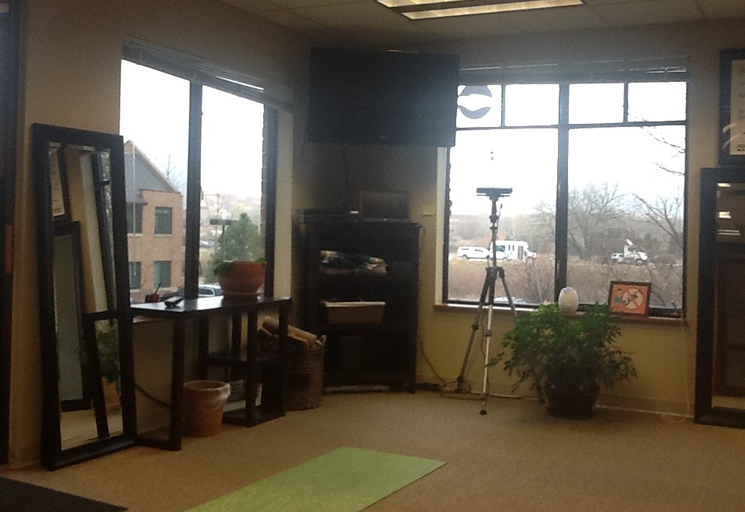 Photo of the therapy facilities at the Egoscue clinic in Boulder, Colorado