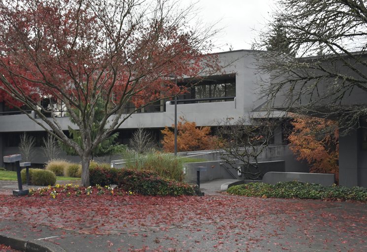 Photo of the exterior of the Egoscue clinic building in Portland, Oregon